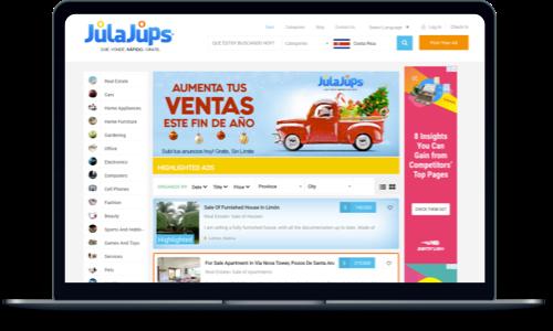 Julajups Classified Website